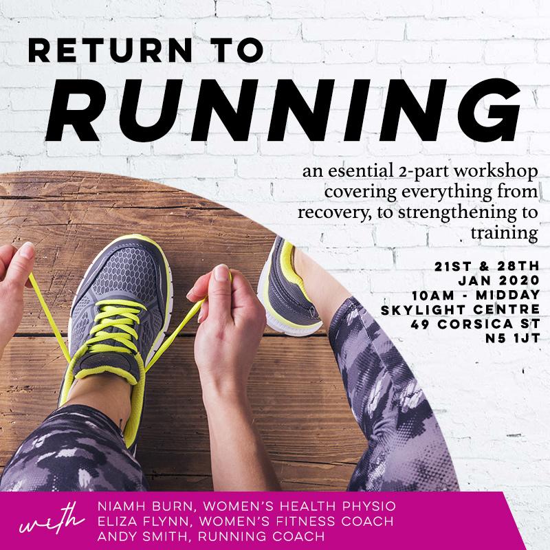 RETURN TO RUNNING WORKSHOP