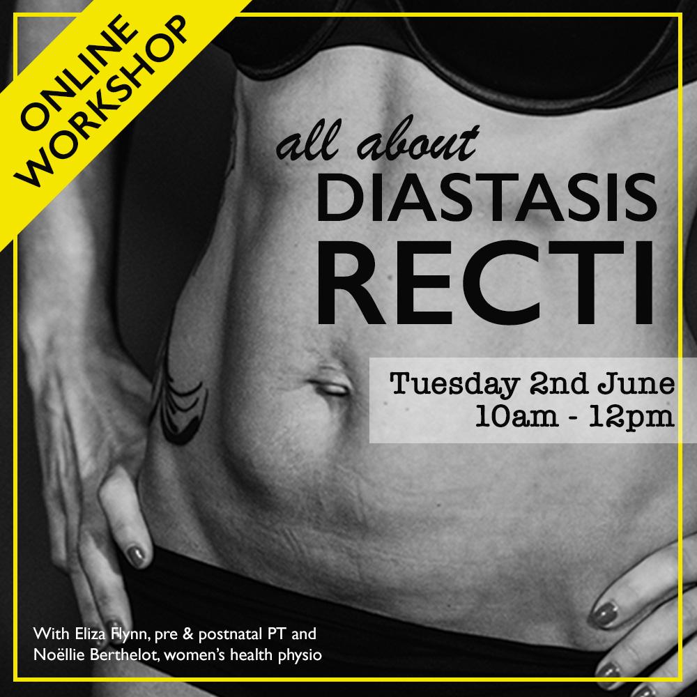 Online Diastasis Recti workshop